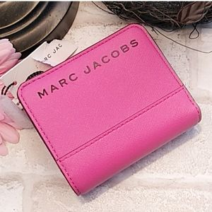 Marc Jacobs Vivid Pink Wallet